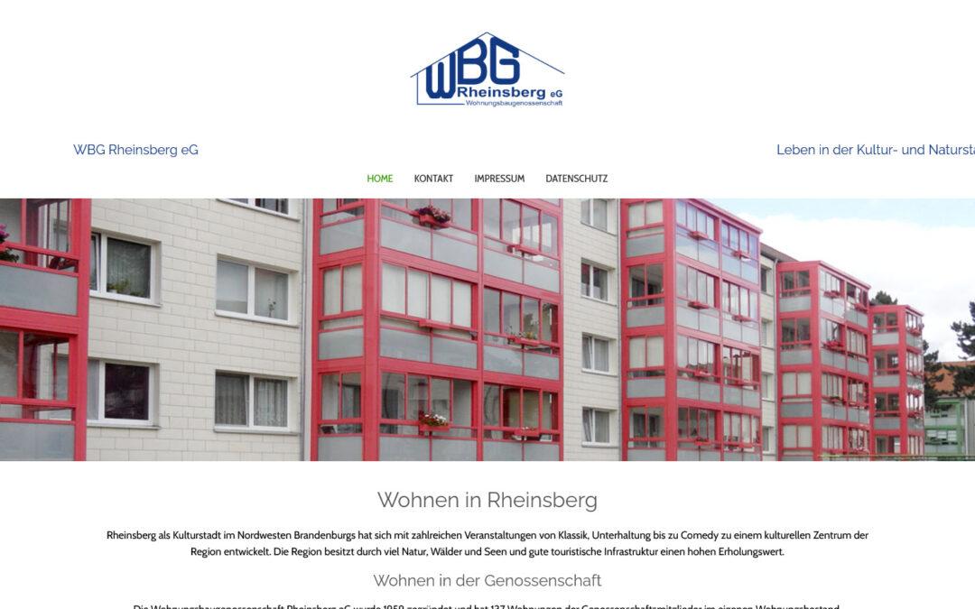 Wohnungsbaugenossenschaft Rheinsber
