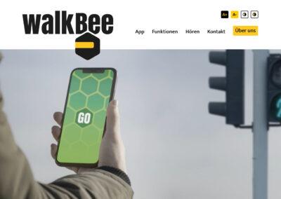 WalkBee – Handyapp bei Handicap