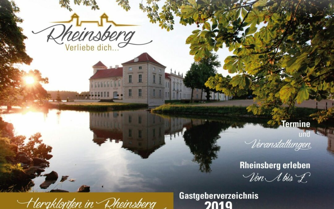 Gastgeberverzeichnis Rheinsberg 2019